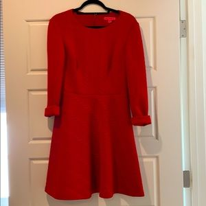 Betsey Johnson Red cable skater dress